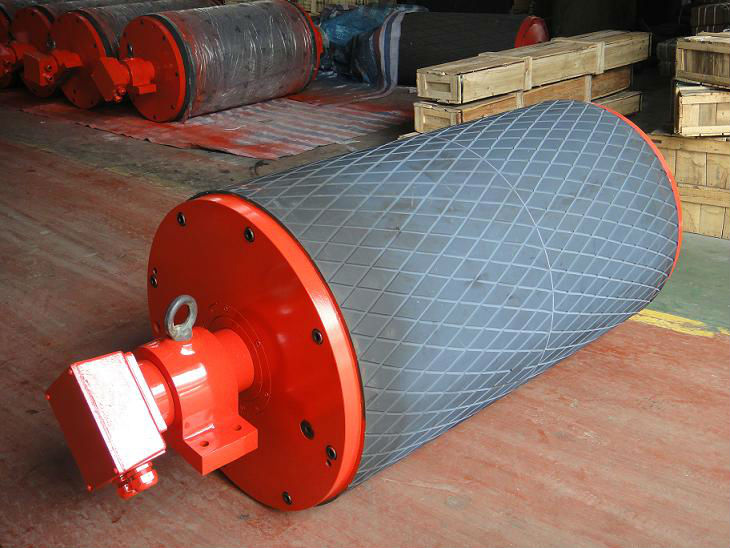 TYD Planetary Electric Conveyor Belt Drive Pulleys for Construction Machine