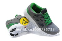 Мужские кроссовки Hot Sale Men's run Running shoes, Sport shoes, sneakers grey/green, Euro 40-44