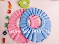 Baby Child Kid Shampoo Bath Shower Wash Hair Shield Hat Cap Yellow / Pink / Blue,5pcs/lot, freeshipping