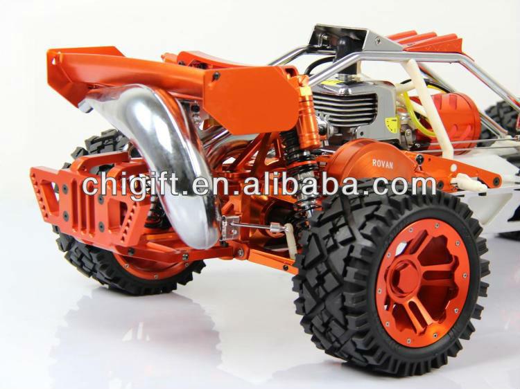 BAJA 305S 1/5 RC Gas baja with 30.5cc engine CNC Metal versions