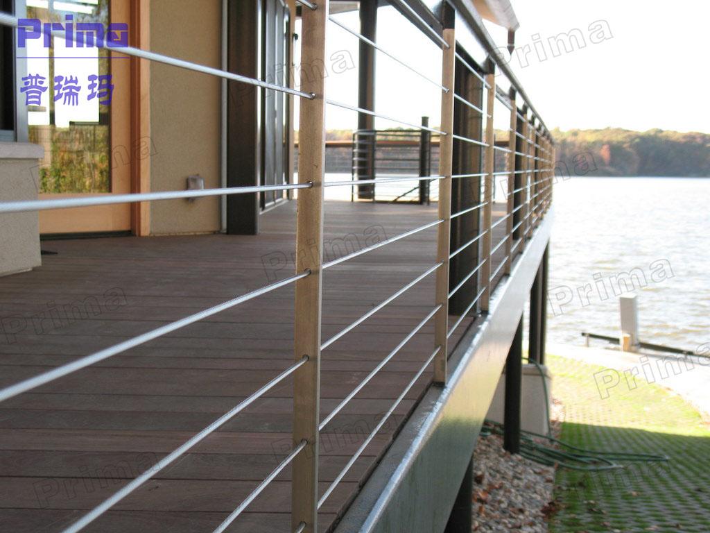 balkon edelstahl angelrute/edelstahl stange geländer-brüstung und, Gartengerate ideen