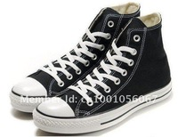 Free Shipping men casual black canvas shoes high style