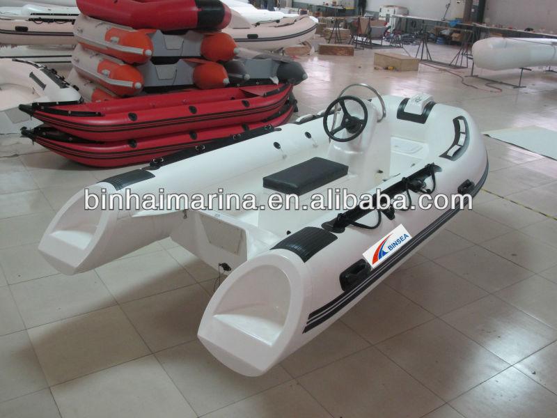 3.6m small rigid hull inflatable boat RIB360B