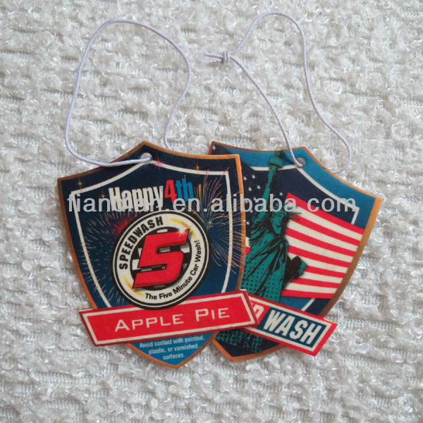 Apple Pie Scented Car Air Freshener USA
