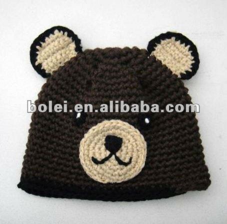 Gorros animales en crochet - Imagui