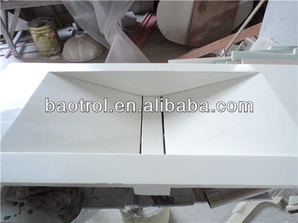 Bathroom cabinet basin / modified acrylic solid surface bathroom cabinet basin