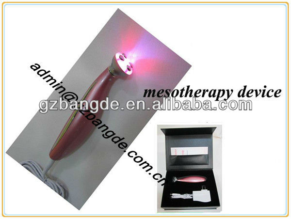Pro Mini Mesotherapy Mesoporation Needle-free Skin Care Rejuvenation Spa Beauty Machine BD-CS011