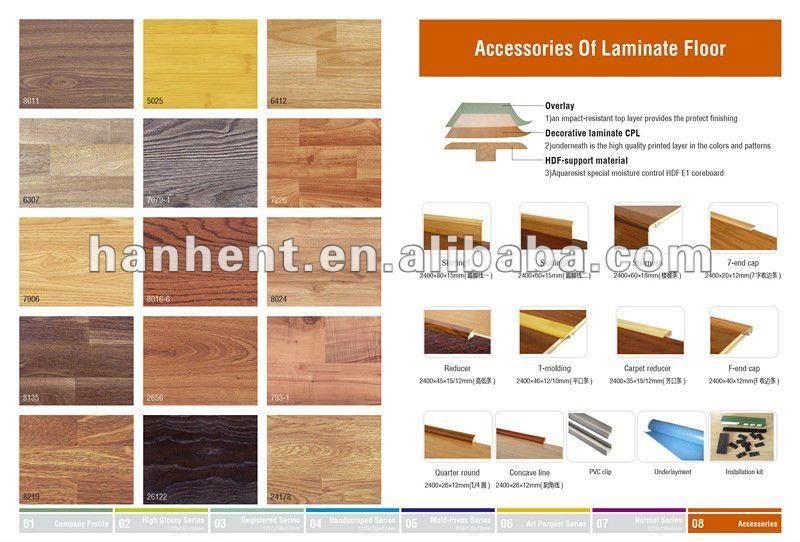 Diseño clásico suelo laminado