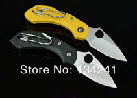 HOT!!! OEM Spyderco H1 NEW ABS handle Pocket Folding knife camping Knife \hunting \ Rescue \ pocket  Free shipping