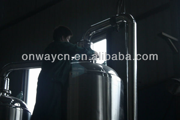 WZD high efficient energy saving waste water evaporator