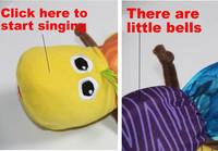 Детский музыкальный инструмент Inchworm Drop 1Pcs/Lot T111