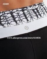 Lastest Lululemon Brand Designer Women's Yoga Fashion Black Cotton Astro Long Pant & Capris Best Retail & Wholesale Price