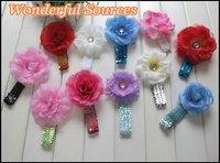 Детский аксессуар для волос Pastorable Big Flower Baby Headband Girls headwear kids Elastic Bandeau Baby hair band, 30pcs/lot