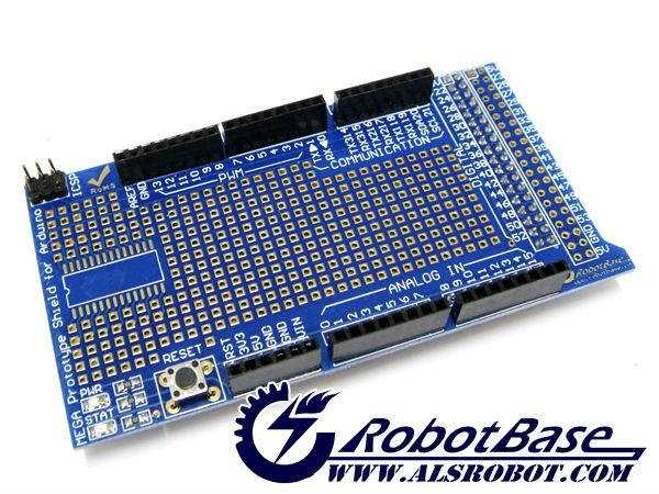 Arduino Protoshield Shield w/Mini Breadboard