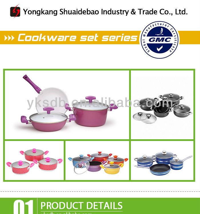 YongKang Hot sales porcelain enamel cookware