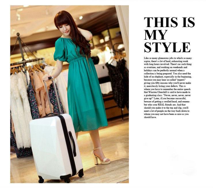 """2014 china alibaba Elegance 3pcs 20""""+24""""+28"""" size luggage bag travel luggage set with superior quality and newest design"""