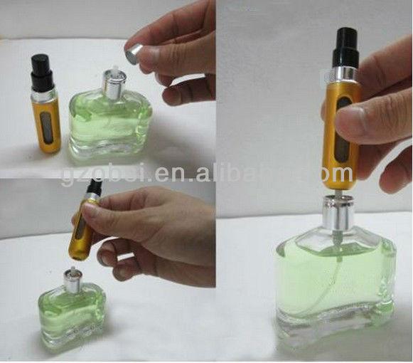 Mini Travel refill atomizer spray bottle designer perfume