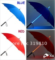 Зонт 2pcs/lot LED Umbrella Blade Runner Style Light Umbrella 5 Change color High quality with warranty