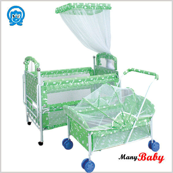 2015 new arrival stainless steel new born baby bed baby cribs cot bed prices baby cribs hanging - Cots for small spaces plan ...