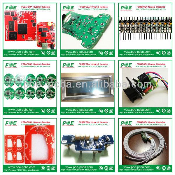 sensor de circuito pcb montagem da placa