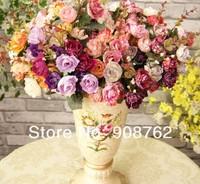 Искусственные цветы для дома China made 5 & 10pcs/Lot HK