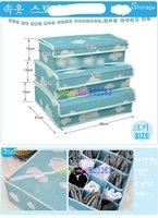 Новый ящик для хранения складной бюстгальтер для белье бюстгальтер с крышкой 1set = 3шт, как картина