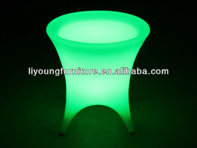 LED Table with Glass Top for 4 People LGL55-0361