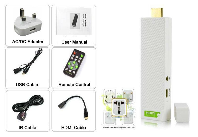 Android Mini PC IPTV Google HD 1080P Smart TV Player Box Media player
