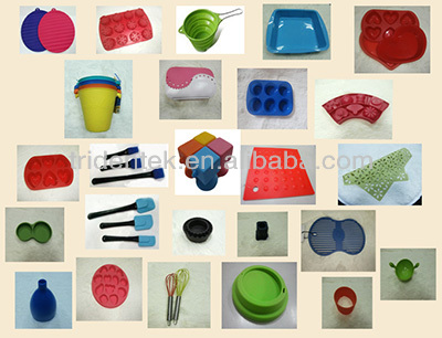 Silicone Bakeware Baking Tools Bundt Pan With Rack
