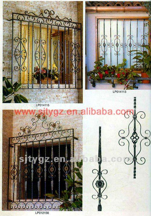 2013 New Pre-order iron main gate design