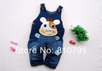 Wholesale /children's cartoon overalls, boys and girls can wear overalls free delivery