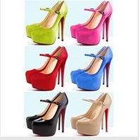NEW style,14cm high heel shoes,4.5 cm platform,size US 4 to 11 (europe 34 to 43),party shoes,weding shoes!free shipping