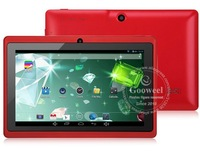 Планшетный ПК Gooweel 7' tablet pc Allwinner A23 Q88pro Dual core 1.5GHz 5 point capacitive Screen+android 4.2+512MB 4GB+Dual camera+Wifi