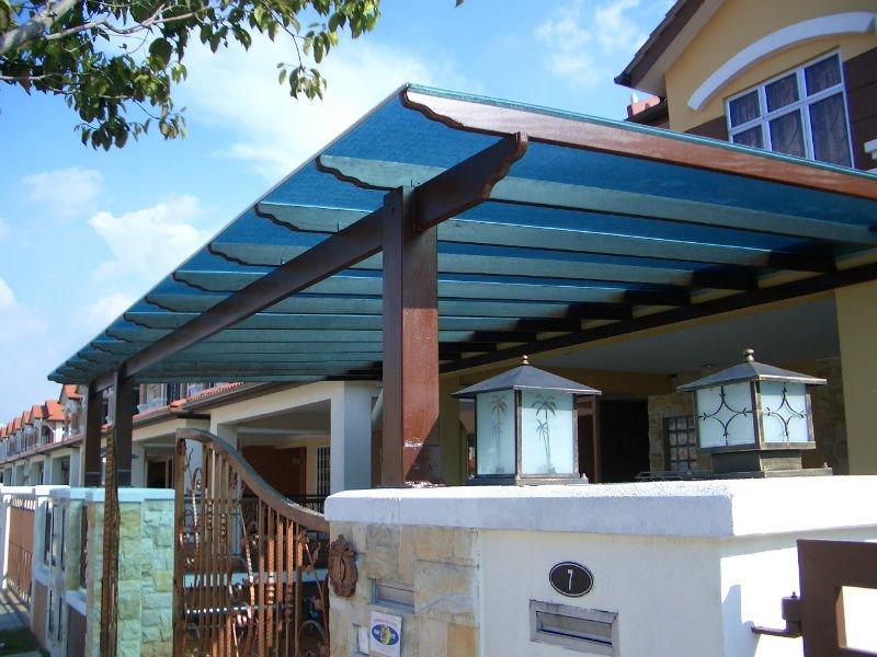 De pl stico para techos transparente techo de pl stico - Techo transparente policarbonato ...