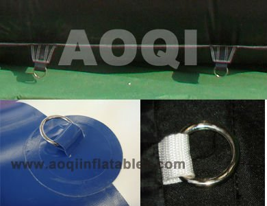 AOQI Giant Sewed Inflatable Tent, Size 75X50X25mH, Can Customized