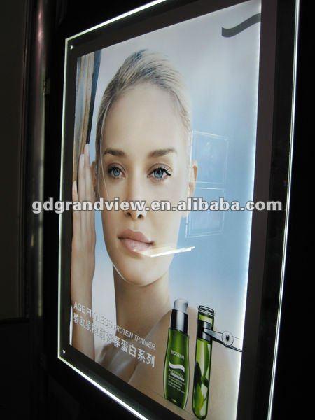 Acrylic/Crystal LED Panel Light Frame