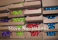 100pcs/lot пластиковые невидимыми чернилами с УФ черный свет 4 различных цветов можно смешивать с низкой цене быстро ch-813