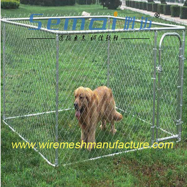 Hot sale chain link fence Dog fence/Dog kennel/Animal cage manufacture(Retail&Wholesale )