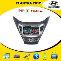 Автомобильный DVD плеер Car DVD GPS for Hyundai Elantra 2012 with 3G, Radio, PIP, SWC, V-CDC, TV, Bluetooth, Ipod  4GB Card with map