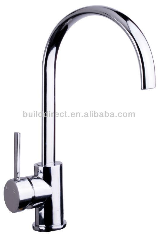 single lever european kitchen faucet