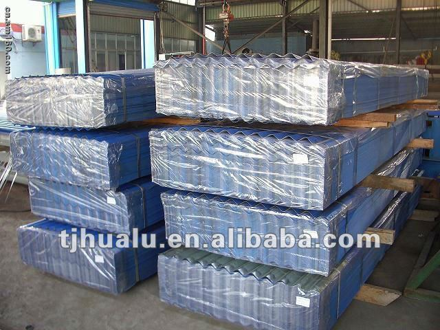 prepainted corrugated ROOFING sheet (FACTORY)
