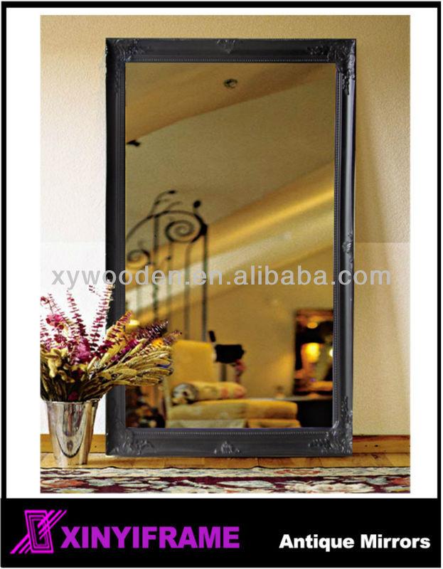 Bois cadre permanent moulures d coratives pour miroirs for Miroir 40x160