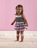 2013 new style, fashion, Hot sale Baby dress infant tutu dress lace pettiskirts dress 3 pcs/lot