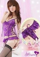 Женский эротический костюм Garters garter stockings Garter toss songs & Garter, violet garter L671