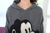 Женские толстовки и Кофты Retail women cartoon animal hoodie sweatshirts for pregnant 0213