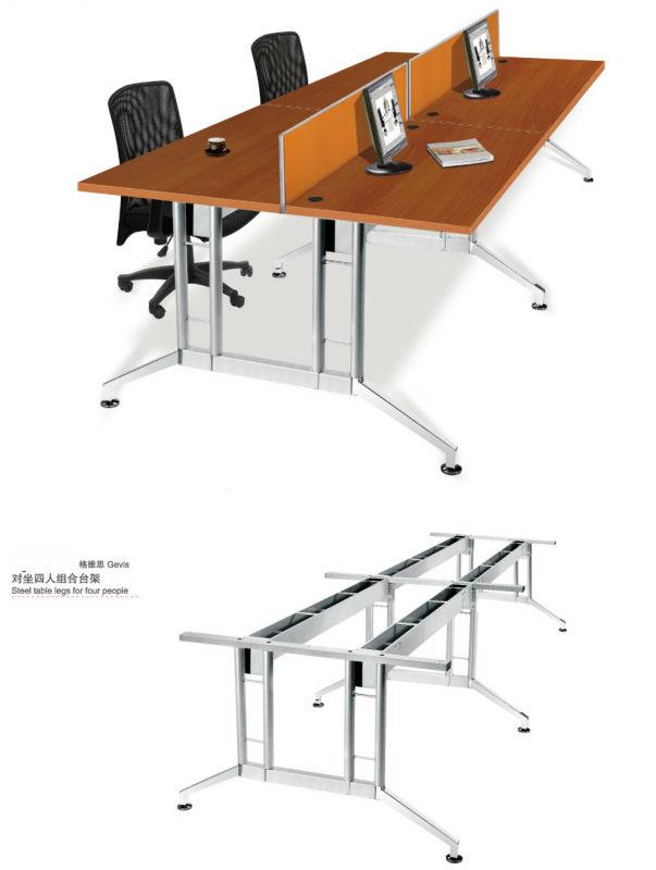 Glass Top Reception Desk