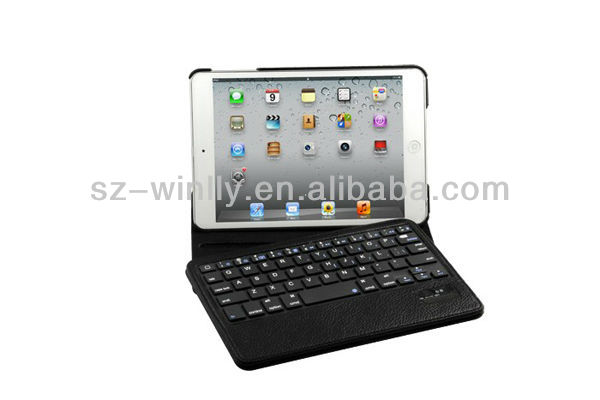 Split Holster Bluetooth Keyboard with Stand Leather Case