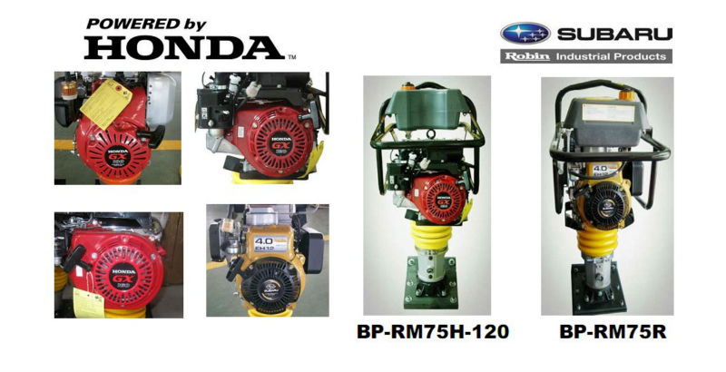 Top Seller!!! POWERGEN Mikasa Style 14KN Honda GX160 5.5HP Powerful Tamping Rammer