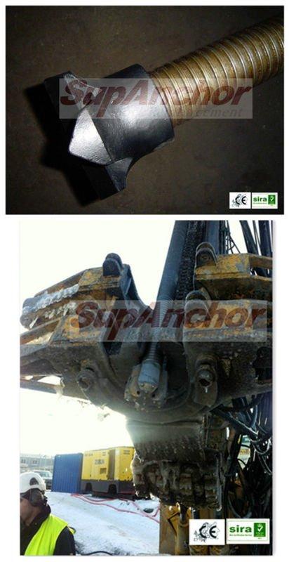 SupAnchor Steel & TC Cross Bit EX and EXX