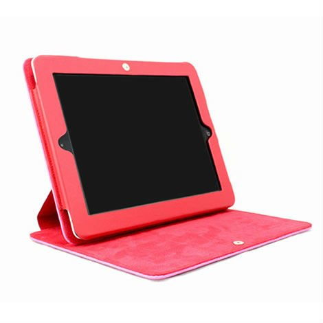 New design Genuine Leather for iPad 2/3 Case